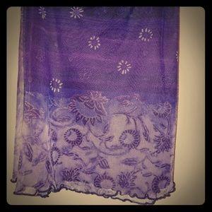 Super cute Purple summer skirt
